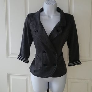 G by Guess quarter sleeve blazer